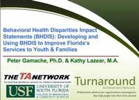 Behavioral Health Disparity Impact Statements