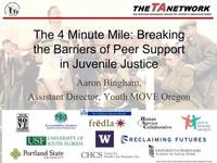 Breaking Barriers of Peer Support in Juvenile Justice