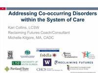 Co Occurring Disorders and System of Care