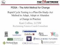 PDSA the AAA Method for Change
